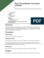 IPSec - Router-Router