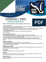 Chien Barf Informacion PDF