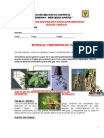 Estimulos y Respuestas en Plantas n2