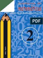 CUADERNO DE MATEMATICAS N 2 PRIMARIA