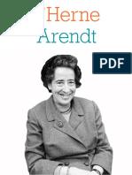 Cahier de l'Herne Hannah Arendt