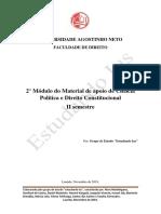 2° Módulo do Material de apoio de Ciência Política e Direito Constitucional