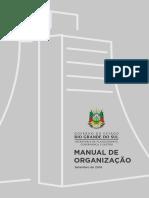 Manual de Organização SPGG
