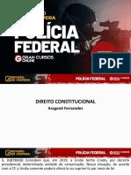 Revisão de Véspera PF - Dreito Constitucional - Aragonê Fernandes