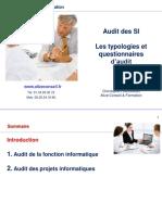 2.AUDIT SI - Typologie d'audit 1 - 5ACG ALT1 - 6Mai21 - Fonction et Projets