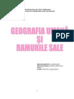 GEOGRAFIA UMANĂ