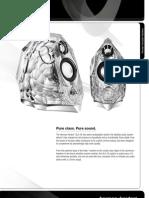 Harman/Kardon GLA-55 Specification Sheet