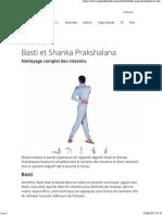 Basti Et Shanka Prakshalana
