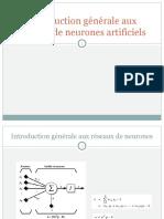 Réseaux de Neurones Artificiels Ahmed