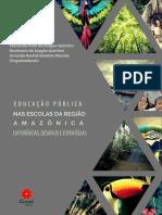 LIVRO EDUCAÇÃO PÚBLICA NAS ESCOLAS DA REGIÃO AMAZÔNICA