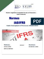 le mini-projet-processus et cadre conceptuel des normes IAS IFRS