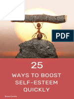 25 Ways to Boost Your Self-Esteem Quickly