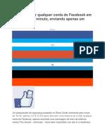 Hackeando  O Facebook pelo sms