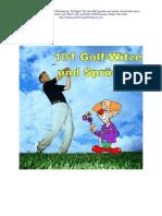 101 Golf-Witze