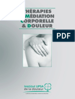 Institut Upsa Ouvrage Therapies Mediation Corporelle Douleur