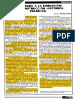 5 - El Derecho a La Educación - Paviglianiti