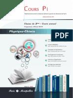 3eme Sciences Physiques Cours