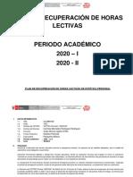 Plan de Recuperación Indecap 20-12-2020 Estética Personal