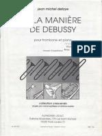 A la manere de Debussy