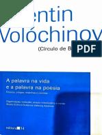 VOLOCHÍNOV_A palavra na vida e na poesia_ed. 34