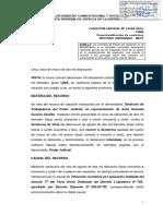 Casación Laboral N° 19684-2016-Lima (desnaturalización del contrato de suplencia)