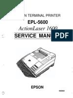 EPL-5600 Service Manual