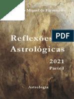 Reflexões Astrológicas 2021 Parte I - Rodolfo Miguel de Figueiredo