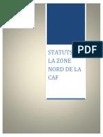 Statuts Zone Nord