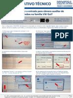Info_VW_Gol_Voyage_Saveiro_Câmera de ré_Liberação VAS