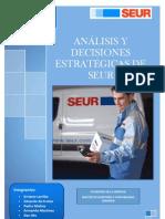 Analisis y Decisiones Estratégicas de SEUR PDF