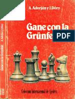 Adorjan Andras - Gane Con La Grunfeld, 1989-OCR, 223p