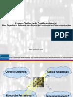 Curso de Gestão Ambiental de campos eletromagnéticos - ITU