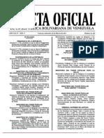 GO 41101 Reglamento de la Ley del Estatuto de la Función Policial sobre el Régimen Disciplinario