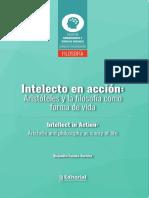 Alejandro Farieta-Barrera - Intelecto en Acción. Aristóteles y La Filosofía Como Forma de Vida-Editorial Uniagustiniana (2018)