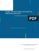The Photosynthetic Restaurant