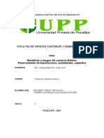 Finanzas Internacional II. MONOGRAFIA