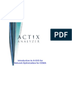 ActixAnalyzerCDMA1xTrainingManual
