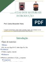 AULA 01 - CIENCIAS DOS MATERIAS