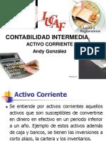 Tema 2. Activo Corriente.- Banco