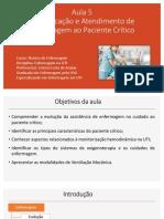 AULA 5. Identificação e Atendimento Paciente Crítico