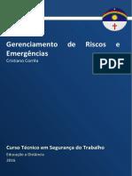 Caderno de Segurança Do Trabalho (Gerenciamento de Riscos e Emergências)