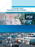 QLD Regional Tourism Crisis Management Plan Template