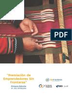 Premiación de Emprendedores Sin Fronteras