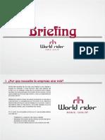 Briefing Web