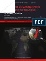 China-US Relations in the Eyes of the Chinese Communist Party by Cai Xia