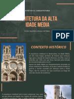 Arquitetura Da Alta Idade Media (1)