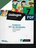 Dialogos 7 Caderno Atividades