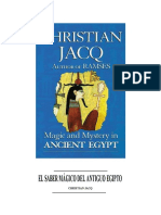 Jacq, Christian - El Saber Mágico en El Antguo Egipto
