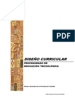 Diseño Curric Córdoba PET