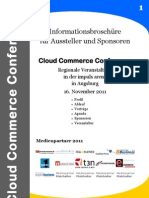 Cloud Commerce Conference Konzept